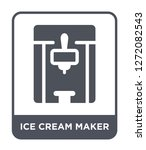 ice cream maker icon vector on... | Shutterstock .eps vector #1272082543