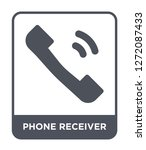 phone receiver icon vector on... | Shutterstock .eps vector #1272087433