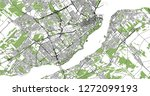 vector map of the city of...   Shutterstock .eps vector #1272099193
