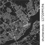 vector map of the city of...   Shutterstock .eps vector #1272099196