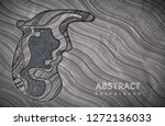 abstract waves background.... | Shutterstock .eps vector #1272136033