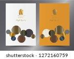 luxury premium menu design...   Shutterstock .eps vector #1272160759