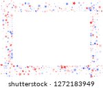 american patriot day stars... | Shutterstock .eps vector #1272183949