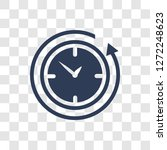 12 hours icon. trendy 12 hours... | Shutterstock .eps vector #1272248623