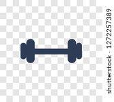 barbell icon. trendy barbell...   Shutterstock .eps vector #1272257389