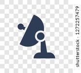 satellite antenna icon. trendy... | Shutterstock .eps vector #1272257479