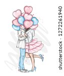Beautiful Couple With Balloons...