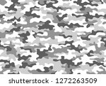 texture military camouflage... | Shutterstock .eps vector #1272263509