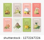 collection of labels or tags... | Shutterstock .eps vector #1272267226
