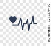 pulse icon. trendy pulse logo... | Shutterstock .eps vector #1272279490