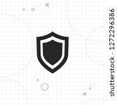 shield icon  vector best flat... | Shutterstock .eps vector #1272296386