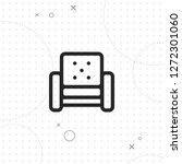 sofa icon  armchair icon ...   Shutterstock .eps vector #1272301060