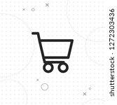 shopping cart icon  vector best ...   Shutterstock .eps vector #1272303436