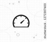 speedometer icon  vector best...   Shutterstock .eps vector #1272307603