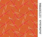 halftone color texture... | Shutterstock .eps vector #1272309886