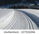 cross country skiing in austria   Shutterstock . vector #127231046