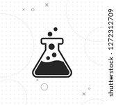 test tube icon  vector best...   Shutterstock .eps vector #1272312709