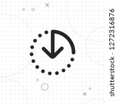 the clock icon   vector best on ...   Shutterstock .eps vector #1272316876