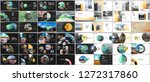 minimal presentations design ... | Shutterstock .eps vector #1272317860