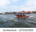 chao phraya river bangkok... | Shutterstock . vector #1272325303
