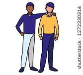 avatar men design | Shutterstock .eps vector #1272330316