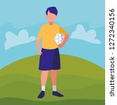 avatar boy icon | Shutterstock .eps vector #1272340156