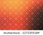 light orange vector texture... | Shutterstock .eps vector #1272355189