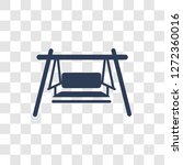 porch swing icon. trendy porch... | Shutterstock .eps vector #1272360016