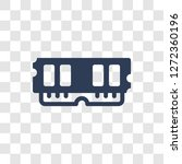 random access memory icon.... | Shutterstock .eps vector #1272360196