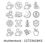 set of delete user  add user... | Shutterstock .eps vector #1272361843