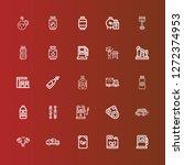 editable 25 diesel icons for...   Shutterstock .eps vector #1272374953
