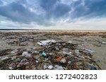 Garbage The Beach Sea Plastic...