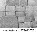 texture of grey concrete wall | Shutterstock . vector #1272415573