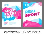 layout poster template design... | Shutterstock .eps vector #1272419416