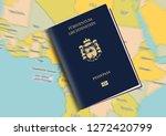 liechtenstein passport pass... | Shutterstock . vector #1272420799
