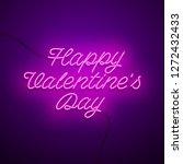 valentine s day background.... | Shutterstock .eps vector #1272432433
