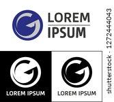 icon  logo  conceptual letter g.... | Shutterstock .eps vector #1272444043