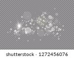 glow light effect. vector... | Shutterstock .eps vector #1272456076