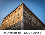 glimpse of the farnese palace... | Shutterstock . vector #1272460456