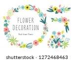 spring color flowers   Shutterstock .eps vector #1272468463