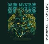 dark mystery illustration | Shutterstock .eps vector #1272471349