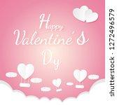 banner valentine day design for ...   Shutterstock .eps vector #1272496579