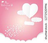 banner valentine day design for ...   Shutterstock .eps vector #1272520996