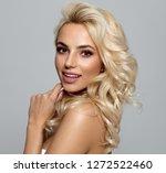 Photo Of Blond Female Model...