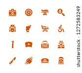 patient icon set. collection of ... | Shutterstock .eps vector #1272583249