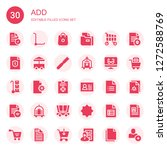 add icon set. collection of 30...   Shutterstock .eps vector #1272588769