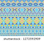 navajo american indian pattern... | Shutterstock .eps vector #1272592909