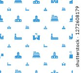 fortress icons pattern seamless ... | Shutterstock .eps vector #1272608179