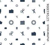 shutter icons pattern seamless... | Shutterstock .eps vector #1272613006