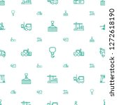 lift icons pattern seamless... | Shutterstock .eps vector #1272618190